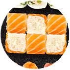 roll saumon