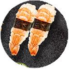 sushi crevette