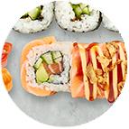 salmon dragon crunch