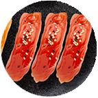 sushi thon laqué sésame