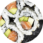 Spicy saumon roll