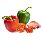 Chorizo poivrons