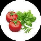 Pesto (tomate, pesto)