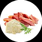Périgord (magret de canard, parmesan, roquette)