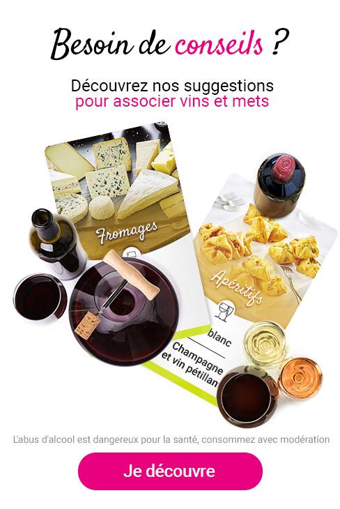 Conseils mets et vins