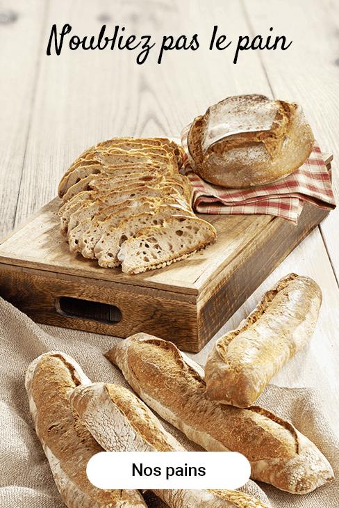 N'oubliez pas le pain !