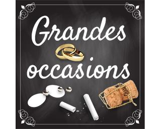 Petites et grandes occasions