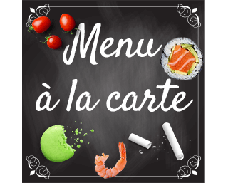 Traiteur à la carte