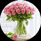 Fleurs et vaisselle